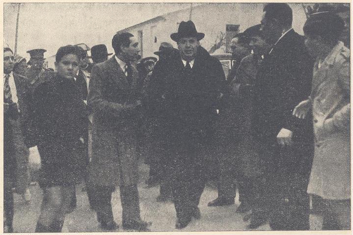 El ministre a la seua arribada a la Vila Joiosa (Fot. Linares Ortiz)