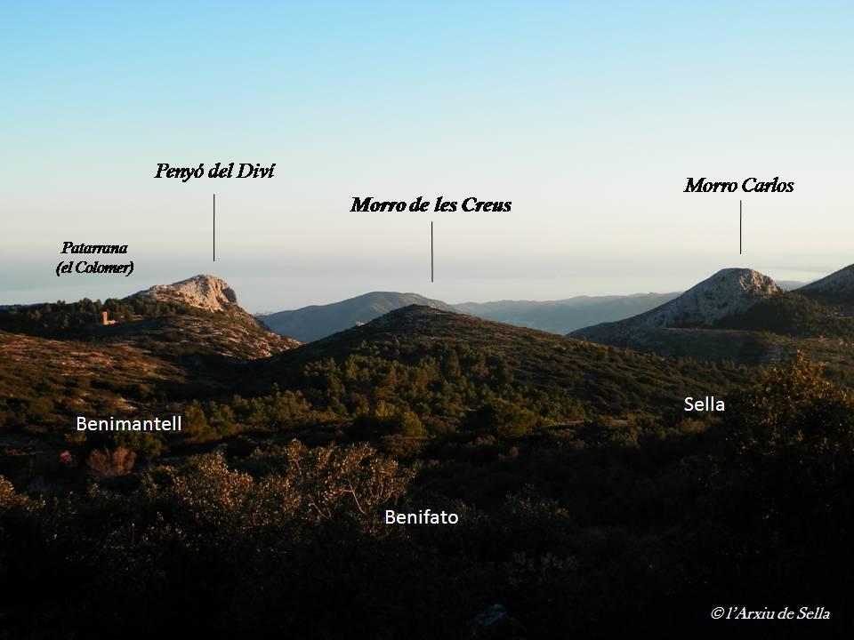 Panoràmica general, vista des del mas del Capellà