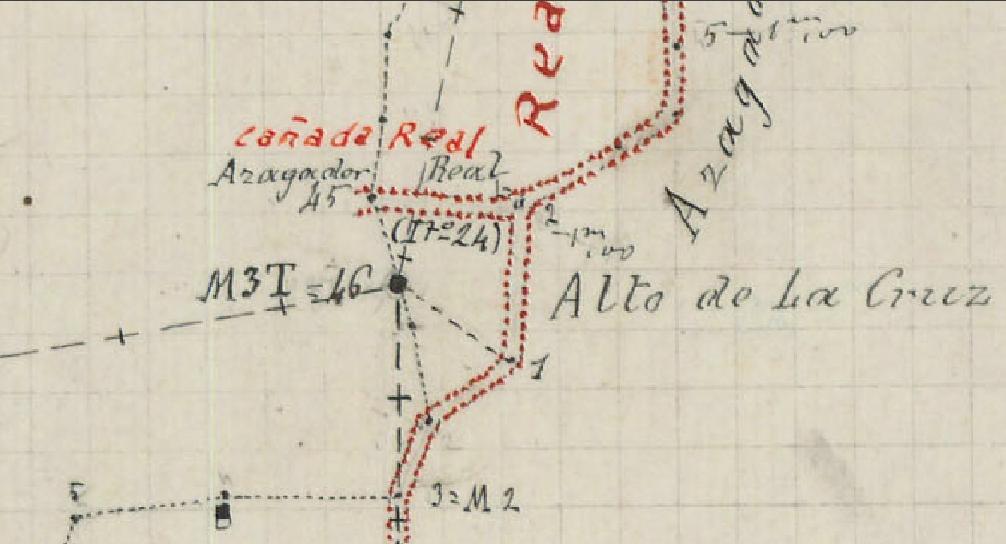 Fites al Bosquejo Planimétrico de finals del segle XIX (Instituto Geográfico y Estadístico). Fulla de Benimantell (Biblioteca de Geografia, Universitat d'Alacant)