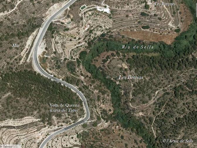 Localització de les Betrius