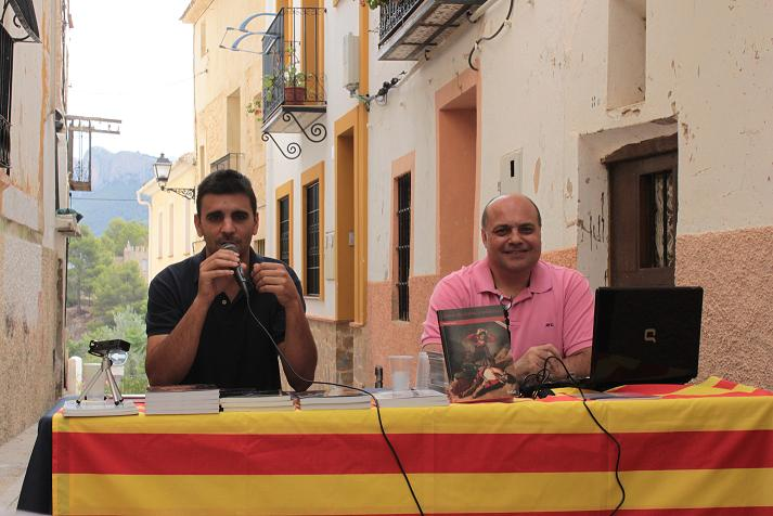 Pablo Giménez i l'escriptor Manel Arcos