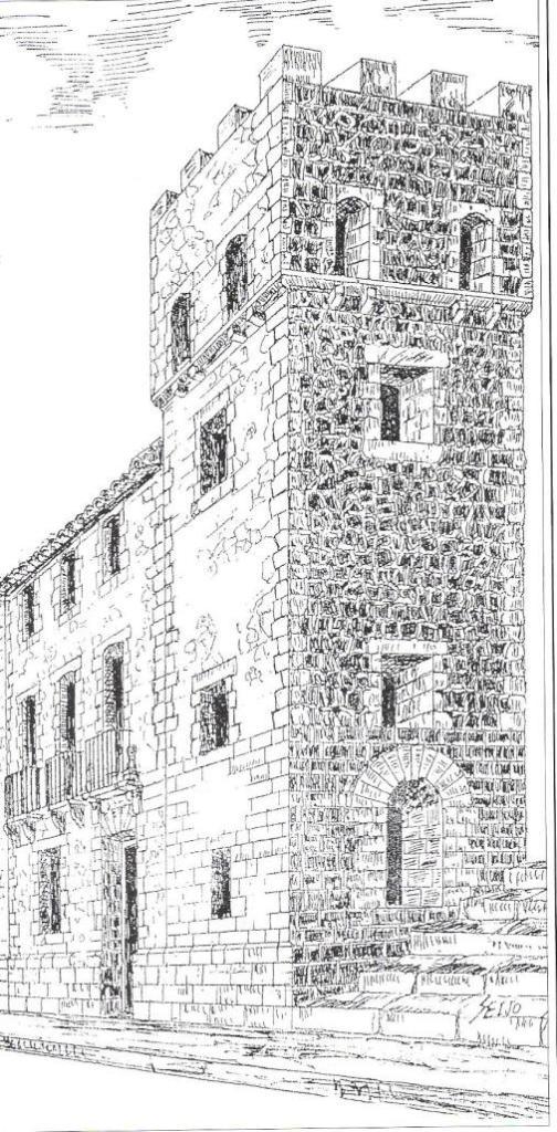 Vista parcial del dibuix de Francisco J. Seijo (5)