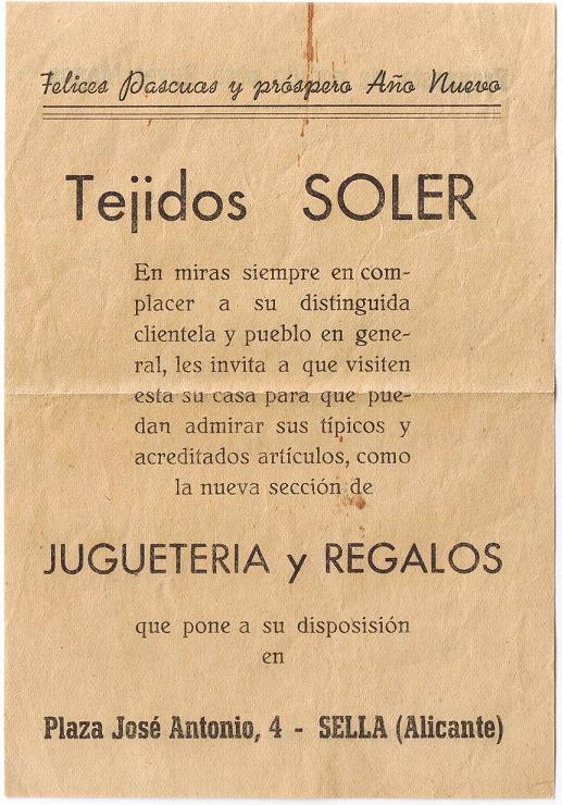 Tejidos Soler_Carta Reis