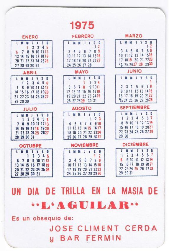 Calendari 1975 Trilla Aguilar_1