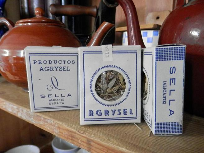 Caixetes originals d'Agrysel, fetes a Sella (XIX Fira de Mostres, Col·lecció particular)