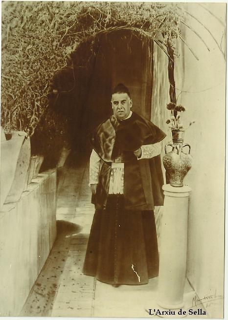 """Francisco José Cerdá y Cerdá, """"El Canonge"""" (Arxiu de Sella)"""