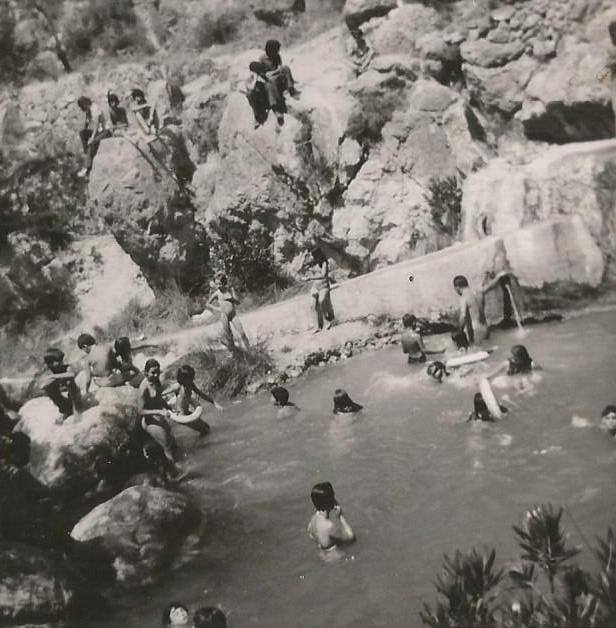 La Font Major, un dia d'estiu de 1974